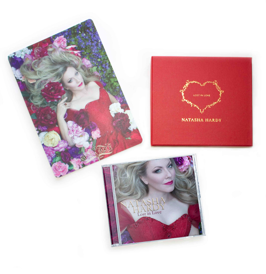 Personalised Special Edition – Lost In Love CD (Physical Album) Presentation Box & Photo Card