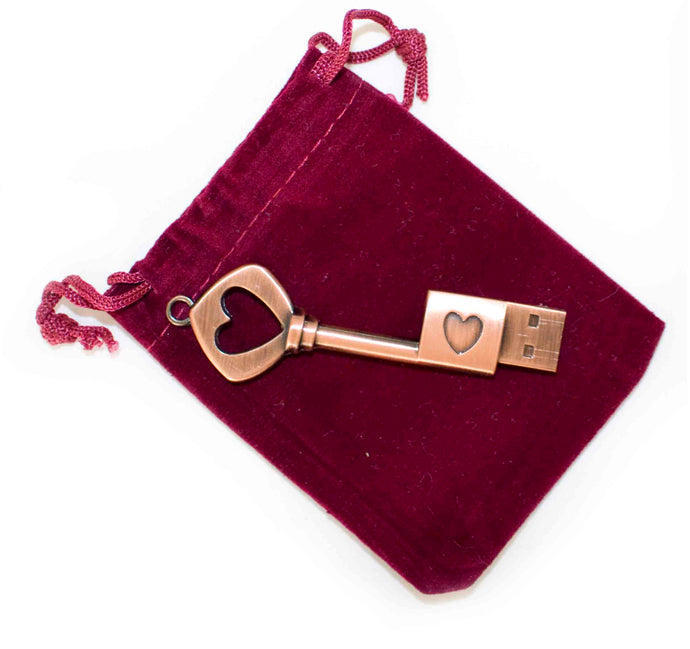 'Lost in Love' Digital Album - Metal Heart 8GB USB Key