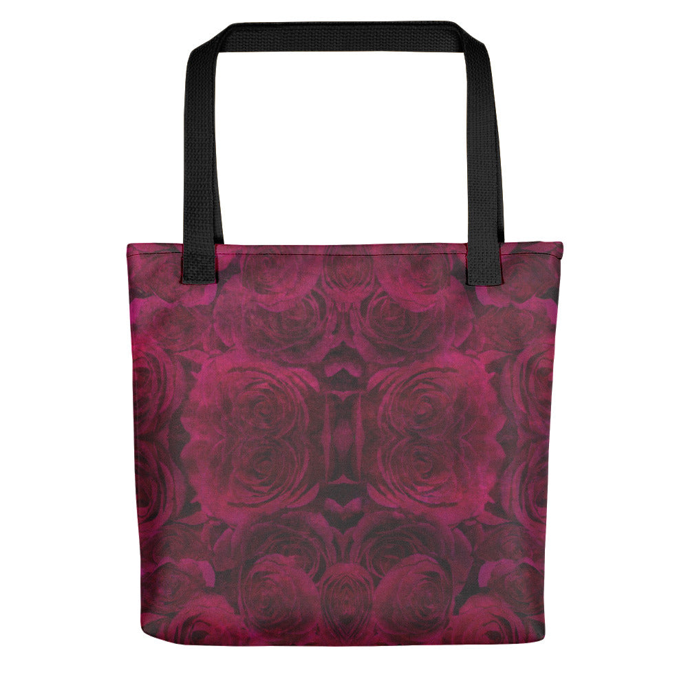 'Lost in Love' Fractal Rose Tote Bag - Original design by Natasha Hardy