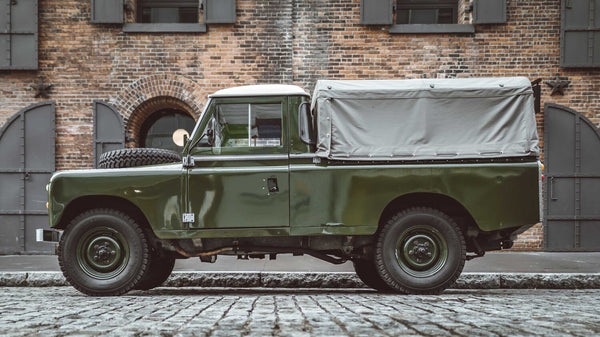 Land Rover Series III by Brooklyn Coach Works