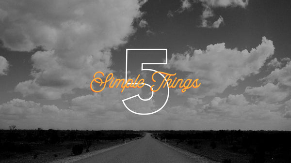5 Simple Things