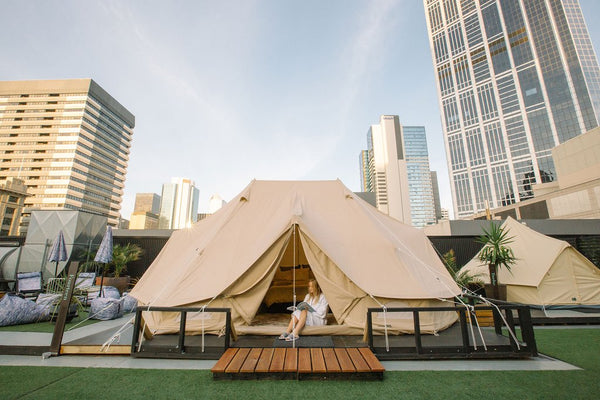 Win a night of luxury camping at St. Jerome's - The Hotel