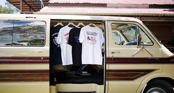 Good memories of family road trips & classic souvenir tee's