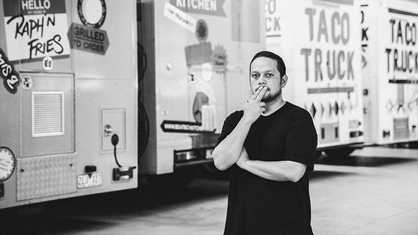 Raph Rashid of Juanita Peaches | Beatbox Kitchen | Taco Truck | All Day Donuts.
