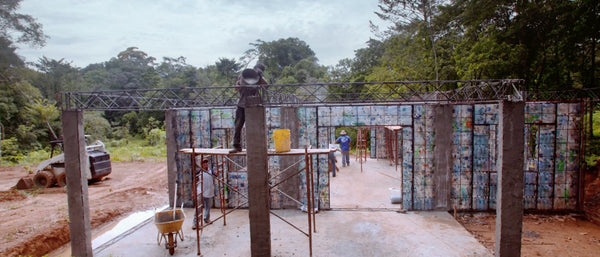 MEET THE MAN BUILDING A PLASTIC VILLAGE IN PANAMA