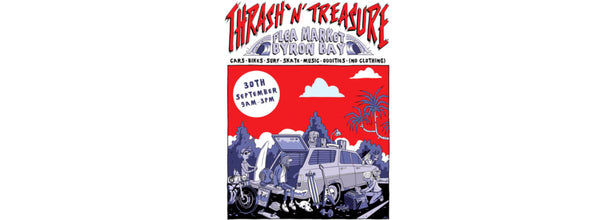 Thrash 'n' Treasure market to support Disabled Surfers Association
