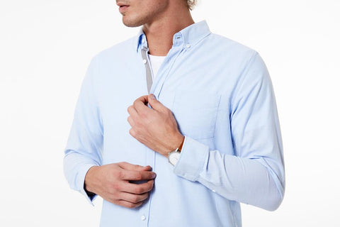 Chambray shirt by Mr Simple