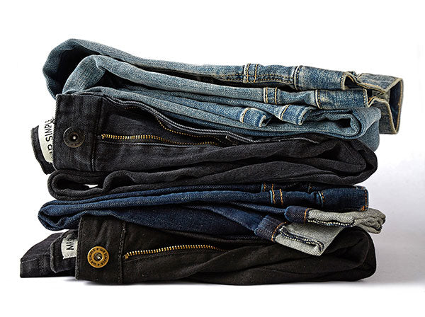 Stacked denim by Mr Simple