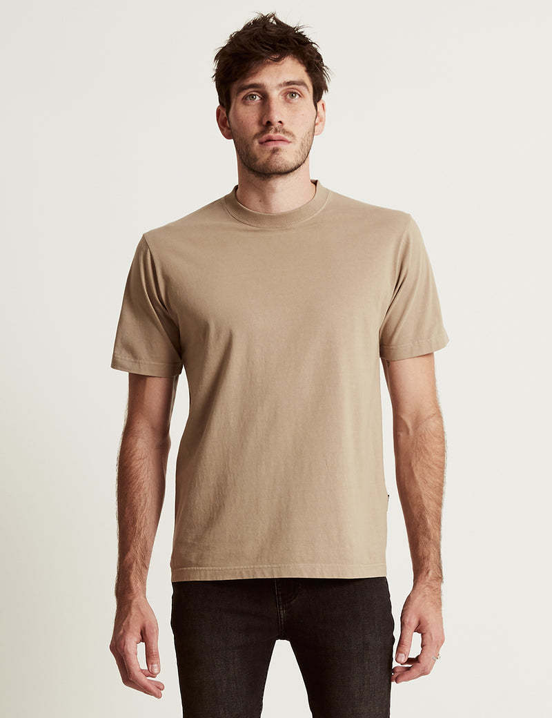 Heavy Weight Tee - Taupe