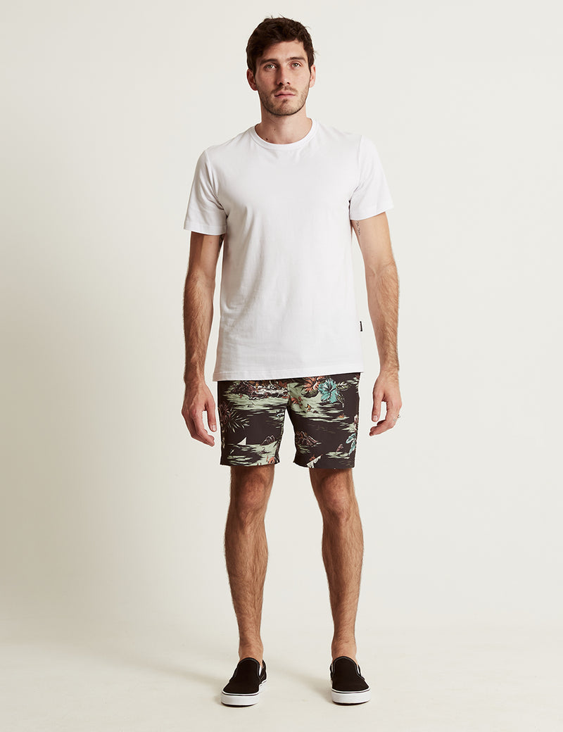 Resort Short - Black Hawaii