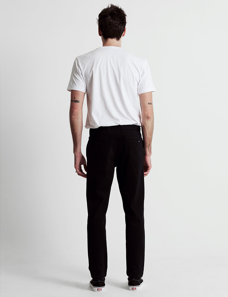 standard fit chino - black standard fit chino - black Mr Simple