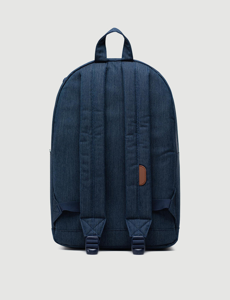 Herschel Pop Quiz Backpack - Indigo Denim Crosshatch