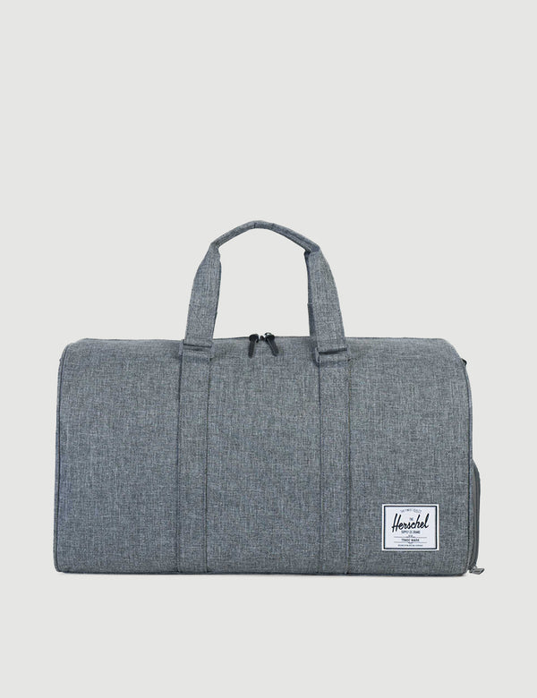 Herschel Novel Duffle - Raven Crosshatch