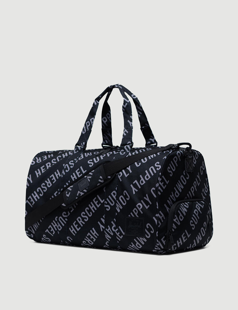 Herschel Novel Duffle - Roll Call Black/Sharkskin