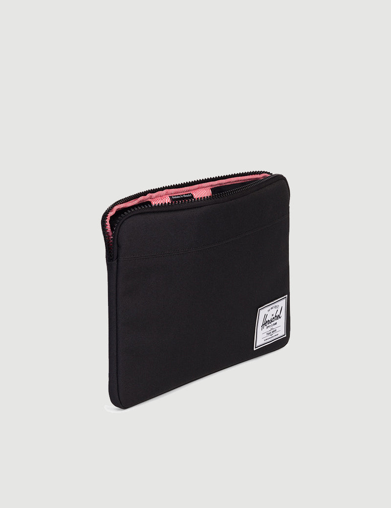 Herschel Anchor Sleeve 13 inch Macbook - Black