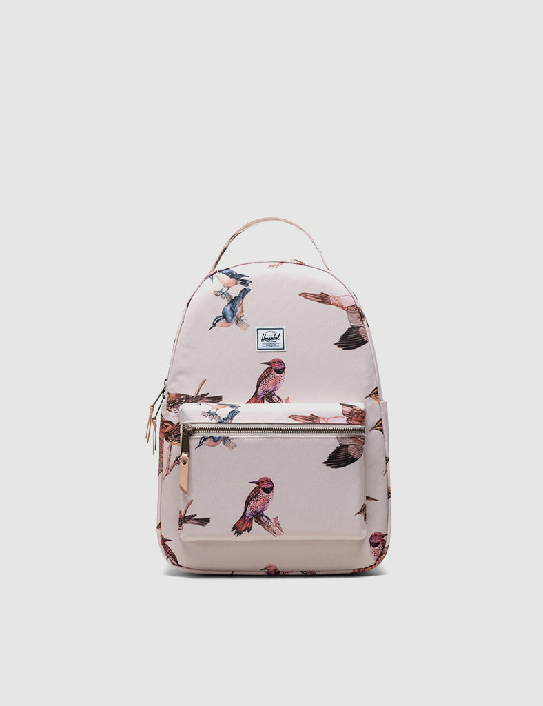 Herschel Nova Mid-Volume Backpack - Natural Birds