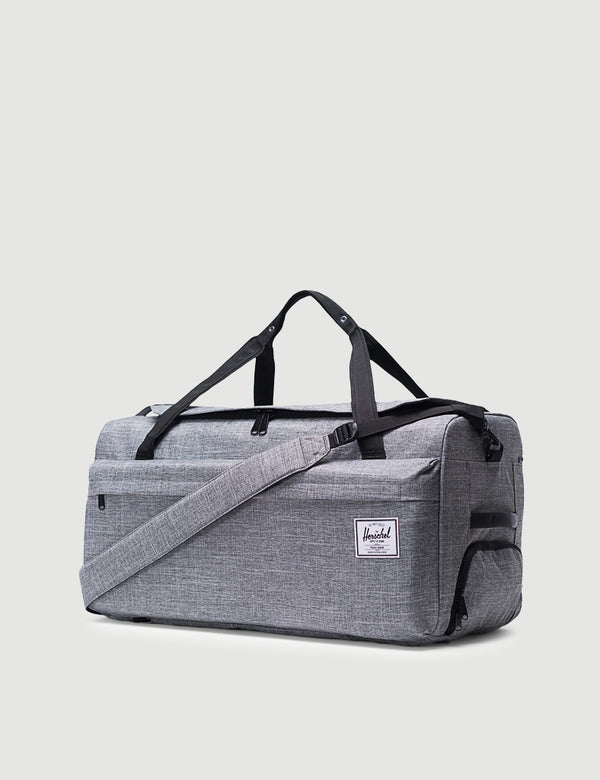 Herschel Outfitter Luggage 70L - 	Raven Crosshatch