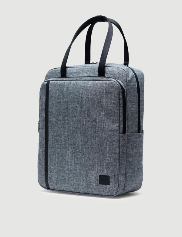 Herschel Travel Tote - Raven Crosshatch