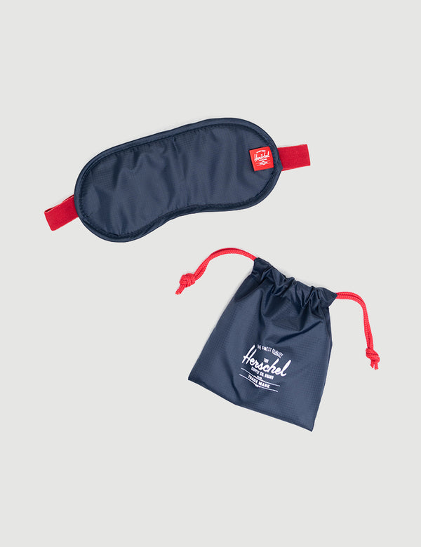 Herschel Eye Mask - Navy/Red