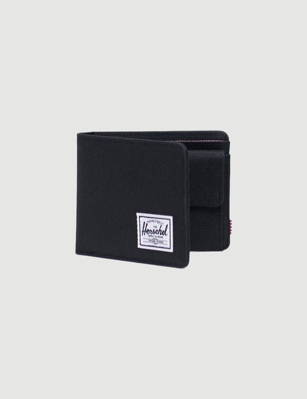 Herschel Roy Coin RFID Wallet - Black