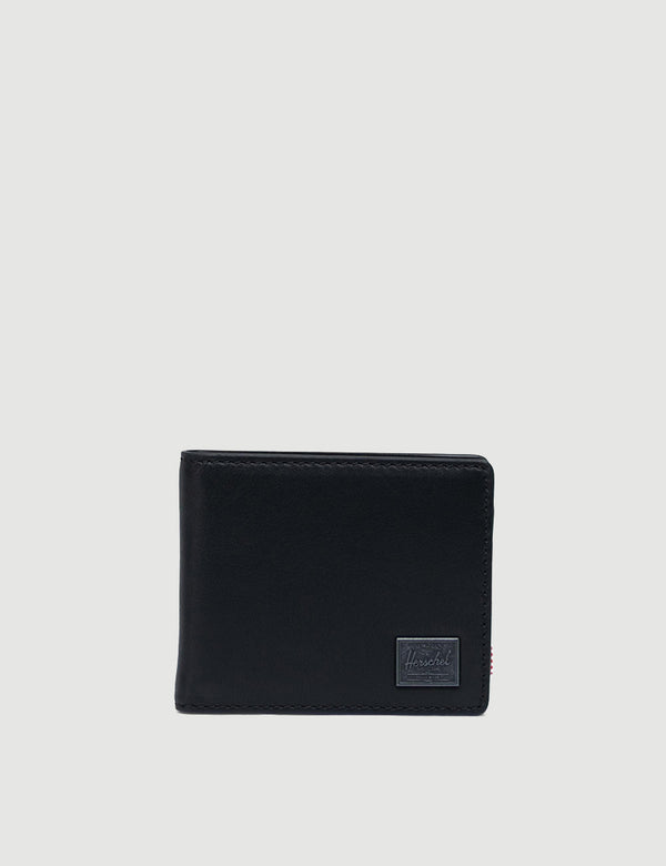 Herschel Hank Leather RFID - Black