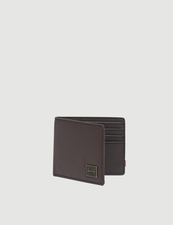 Herschel Hank Leather RFID - Brown