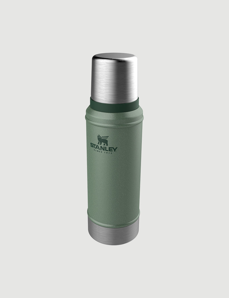 Stanley Vacuum Bottle 25 OZ/ 0.75L - Hammertone Green