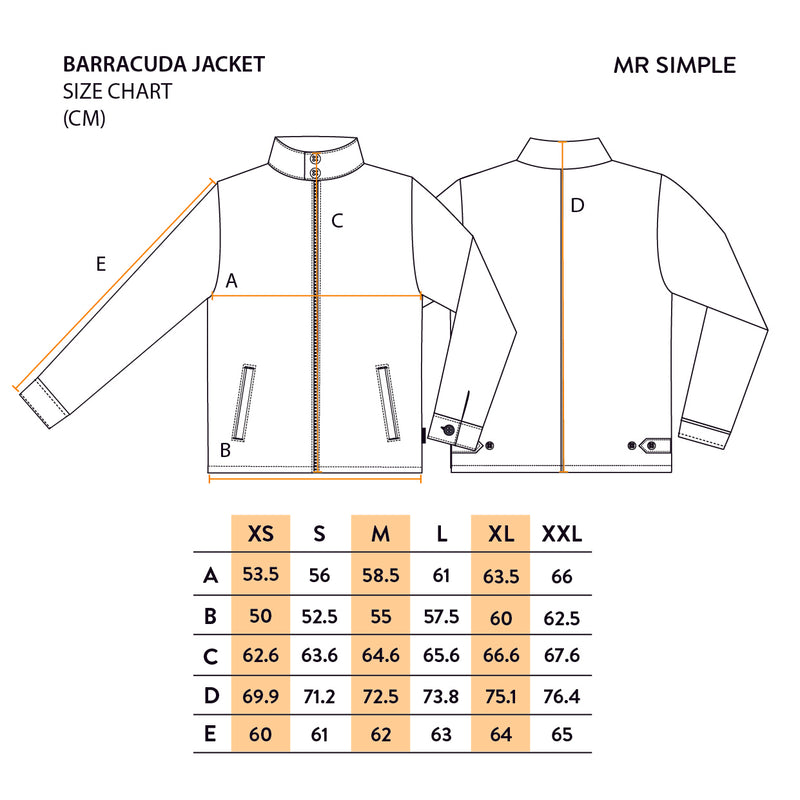 Barracuda Jacket - Khaki