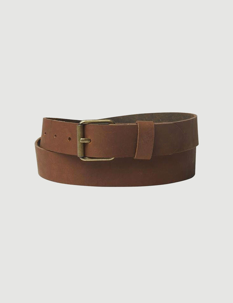 CUTLER NATURAL LEATHER BELT CUTLER NATURAL LEATHER BELT Mr Simple