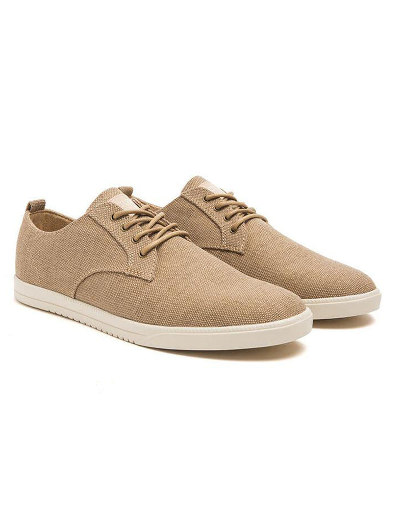 Clae Ellington Textile - Tan Hemp Canvas Clae Ellington Textile - Tan Hemp Canvas Mr Simple