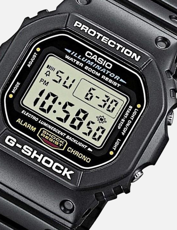 G-Shock Classic Digital Sport Watch DW5600-1 by Casio