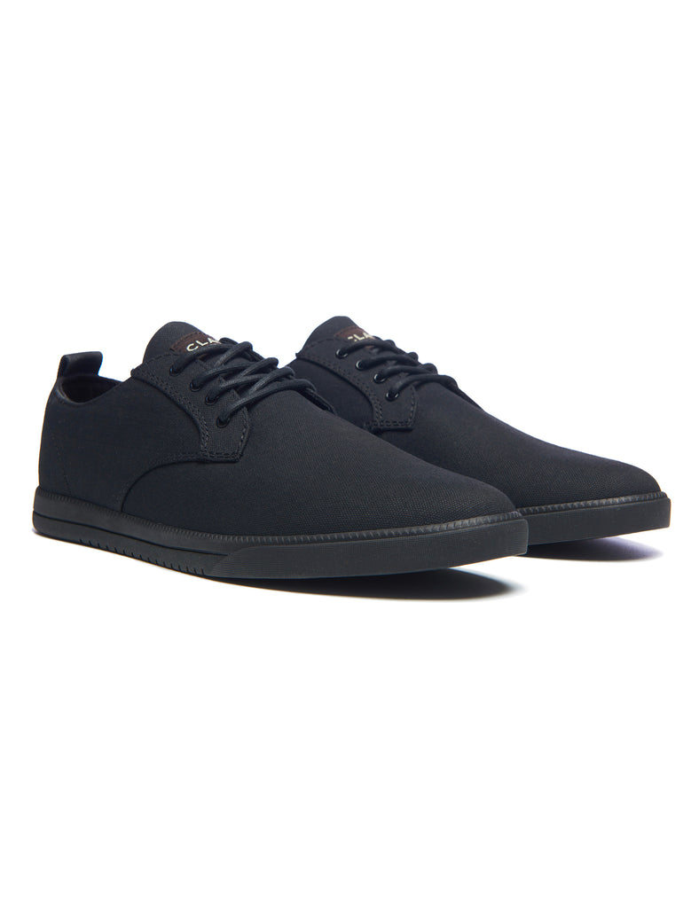 Clae Ellington Textile - Black Waxed Canvas Clae Ellington Textile - Black Waxed Canvas Mr Simple