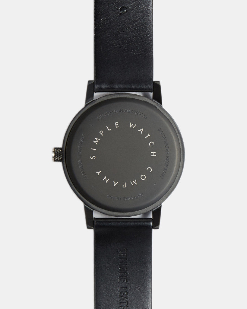 earl watch - black - 42mm earl watch - black - 42mm Mr Simple