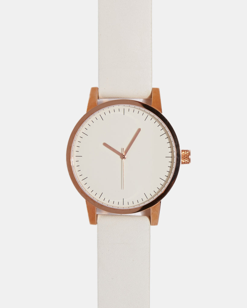 Kent 38mm Watch - White/Gold Kent 38mm Watch - White/Gold Mr Simple