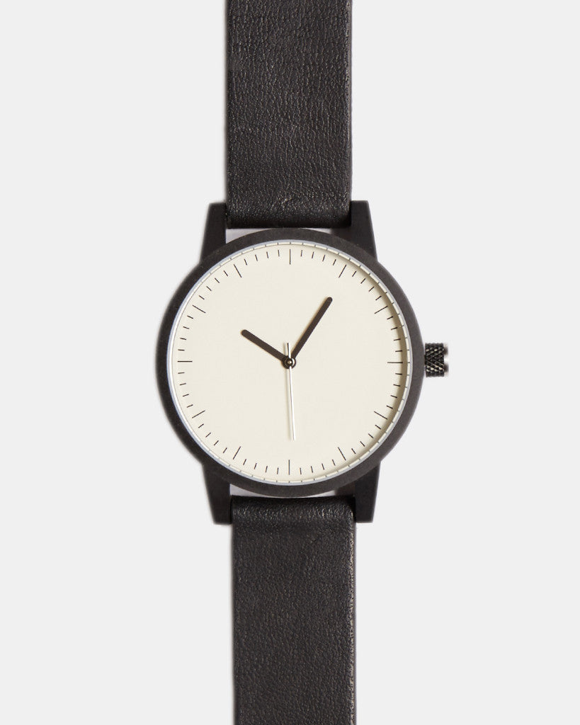 kent watch - black / white - 38mm kent watch - black / white - 38mm Mr Simple