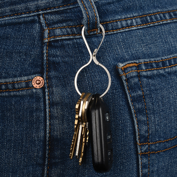 Infini-Key Key Chain - Stainless