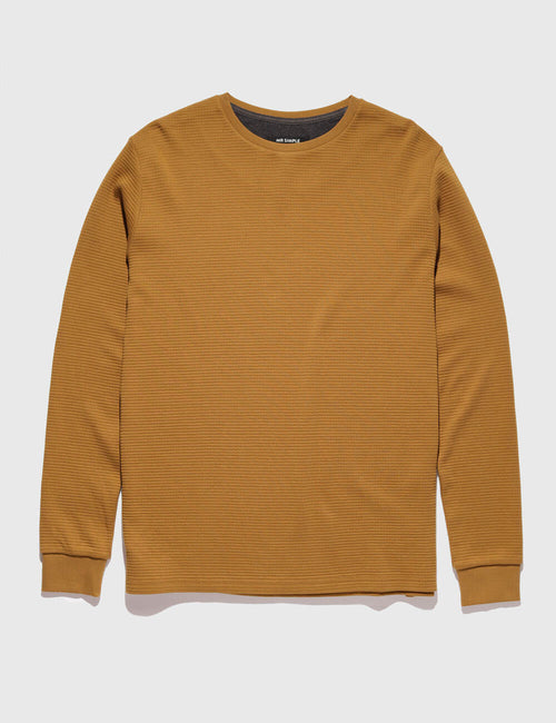 mr-simple-waffle-long-sleeve-tee-tobacco