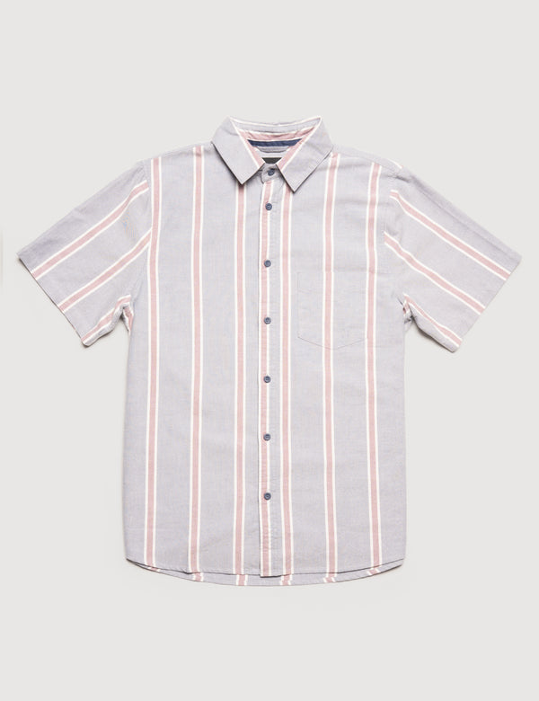 Oxford Short Sleeve - Blue Stripe