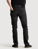 Slim Fit Denim - Washed Black Slim Fit Denim - Washed Black Mr Simple