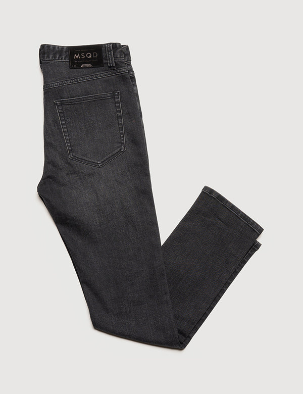 Slim Fit Denim - Washed Black