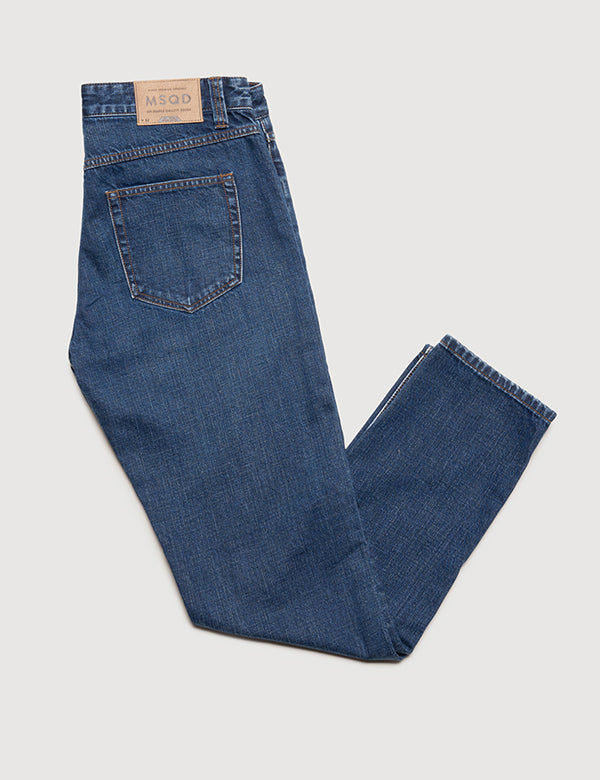 Straight Fit Denim - Indigo