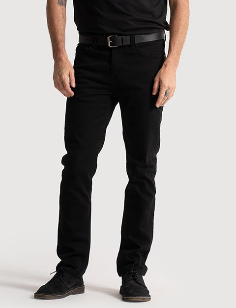 Slim Fit Denim - Black