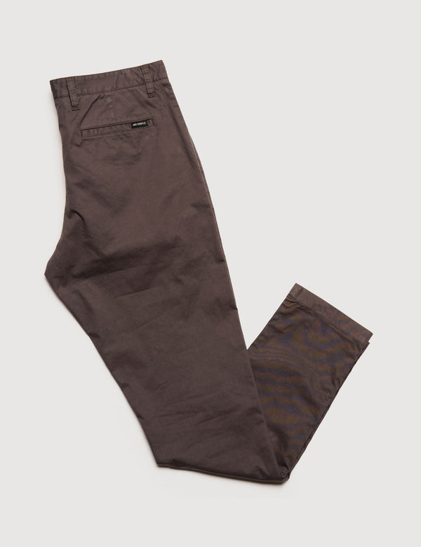 Slim Fit Chino - Storm