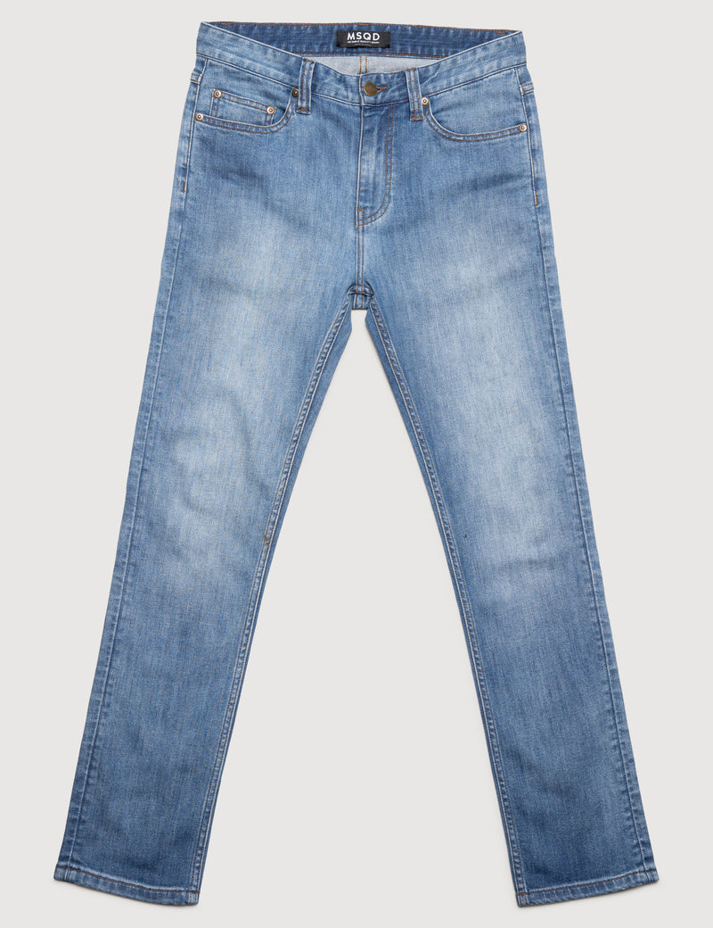 Slim Fit Denim - Vintage Blue