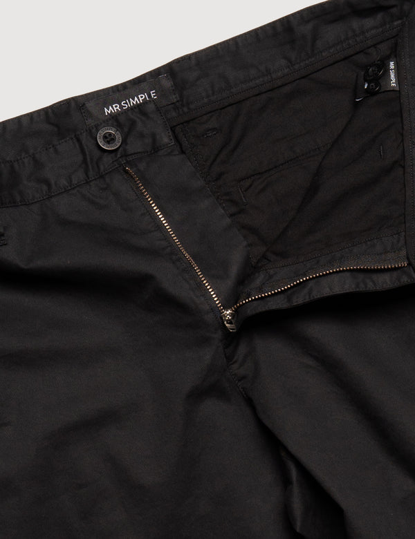 Slim Fit Chino - Black