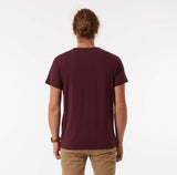 FLETCHER POCKET TEE Mr Simple Fletcher Pocket Tee - Burgundy Marle. Autumn 2016 Collection. Menswear. Online Store. www.mrsimple.com.au Mr Simple