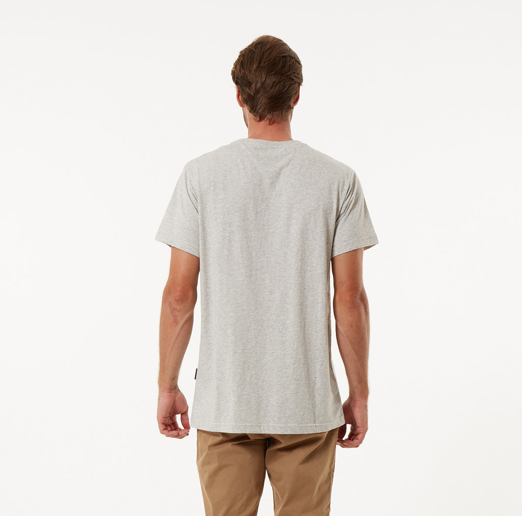 Fletcher Pocket Tee - Natural Marle Mr Simple Fletcher Pocket Tee - Natural Marle. Autumn 2016 Collection. Menswear. Online Store. www.mrsimple.com.au Mr Simple