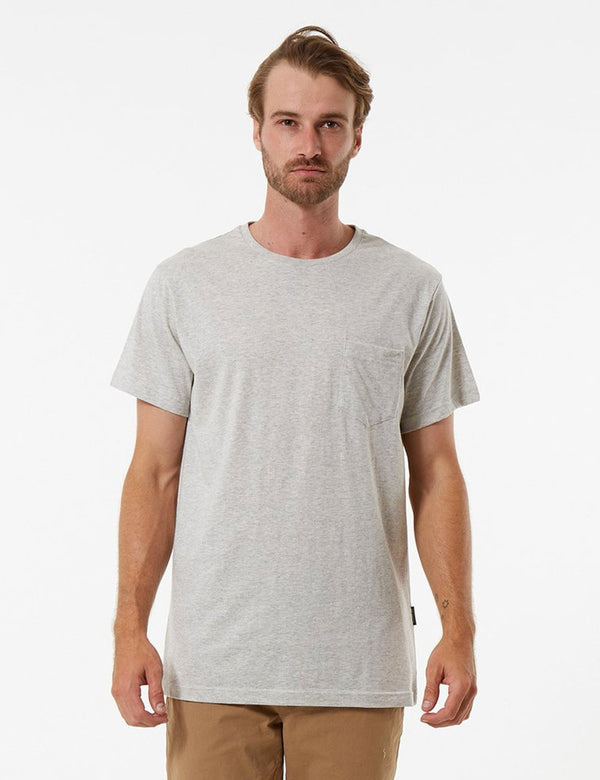 Fletcher Pocket Tee - Natural Marle