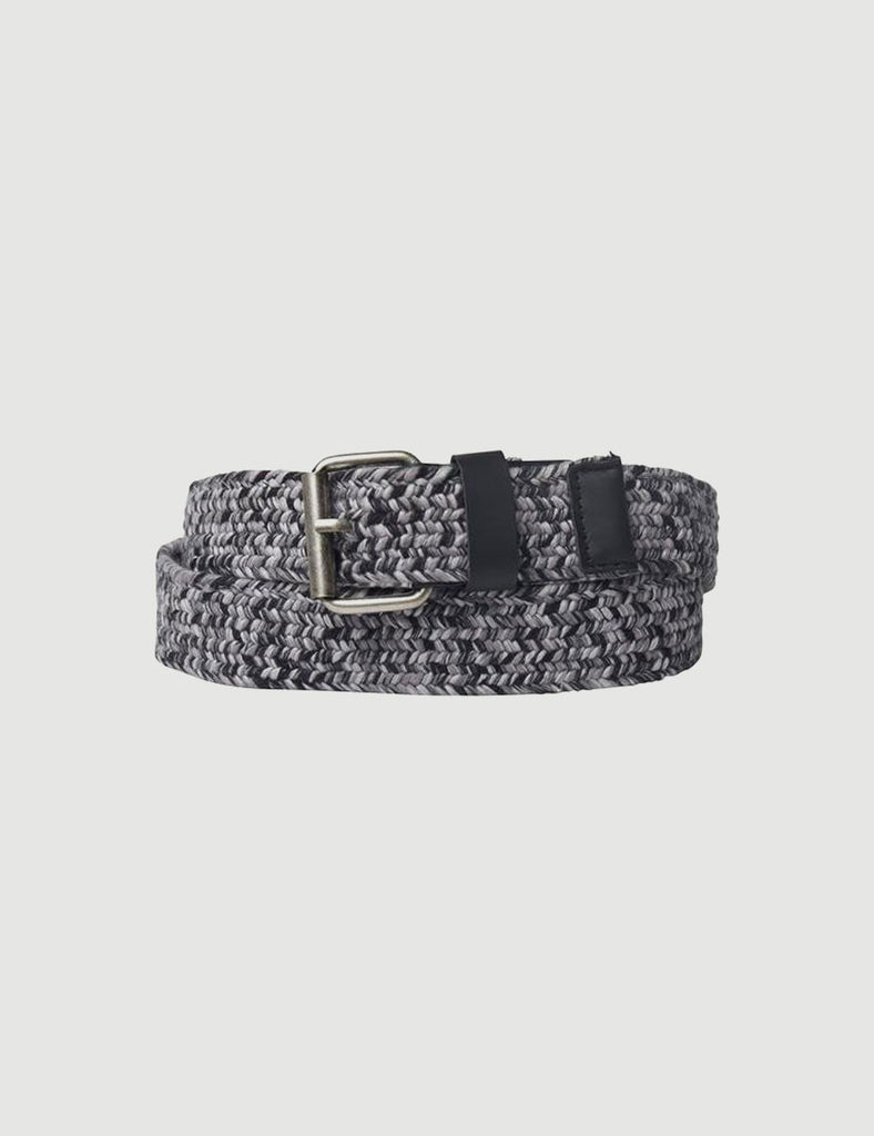 RUSHFORD BLACK MELANGE COTTON BELT RUSHFORD BLACK MELANGE COTTON BELT Mr Simple
