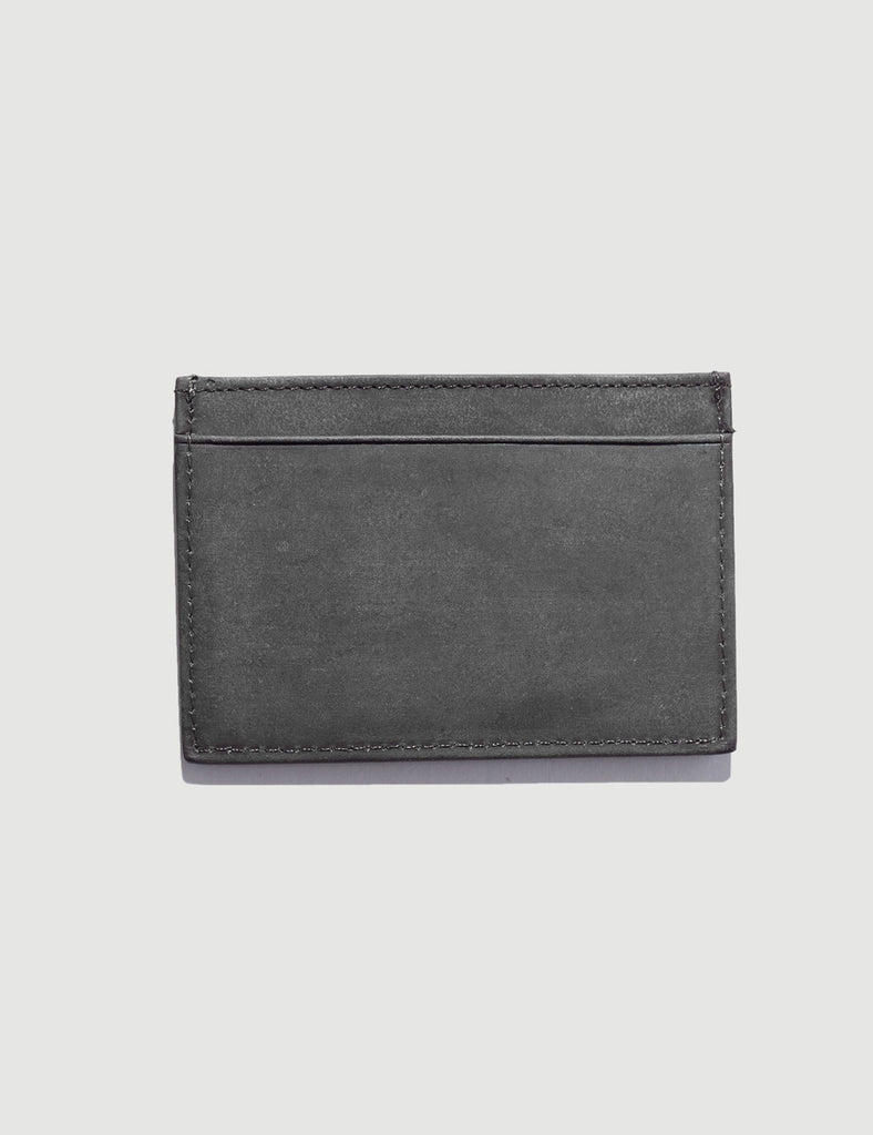 Tillman Leather Wallet - Brushed Black Tillman Leather Wallet - Brushed Black Mr Simple